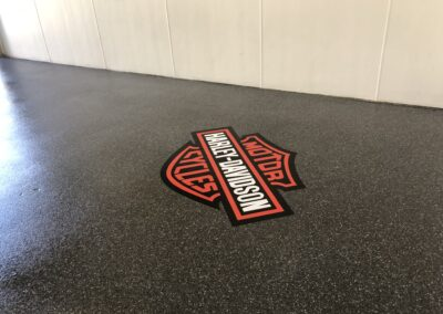 Harley Garage Decal